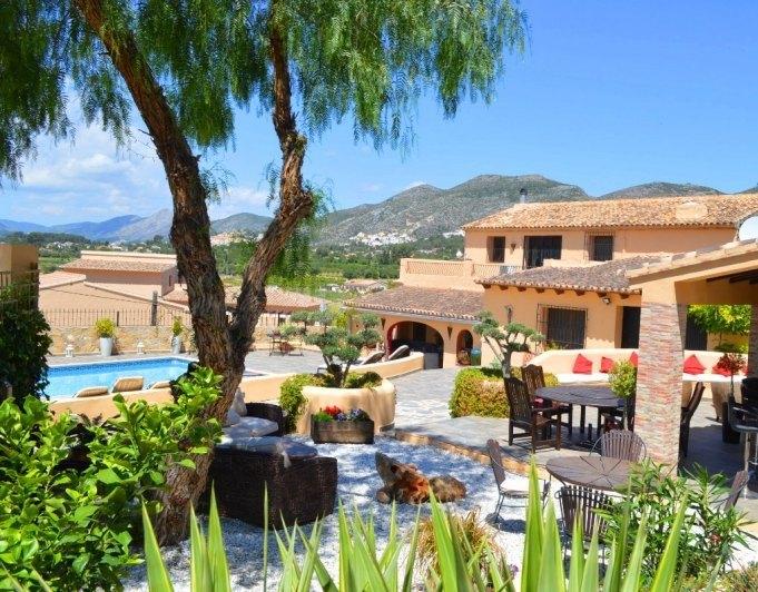 villa en lliber · town 499000€