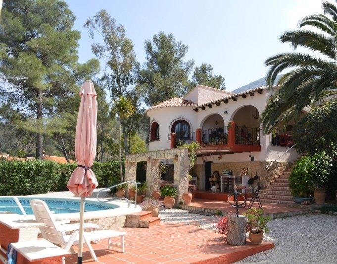 villa en parcent · valley 399950€
