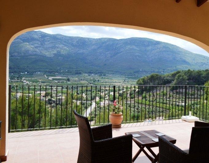 villa en parcent · valle--urbanizacion 285000€