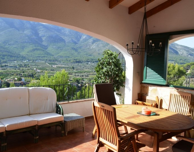 villa en parcent · valle--urbanizacion 275000€